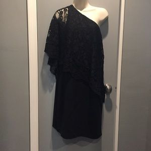 NWT Nanette Lepore One Shoulder Dress